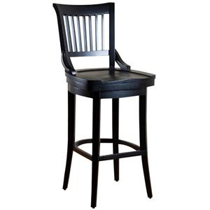 "American Heritage Billiards Bar Stools 24"" Black Liberty Bar Stool"