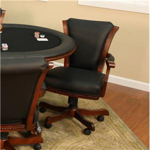 American Heritage Billiards High Stakes Casino Game Chair