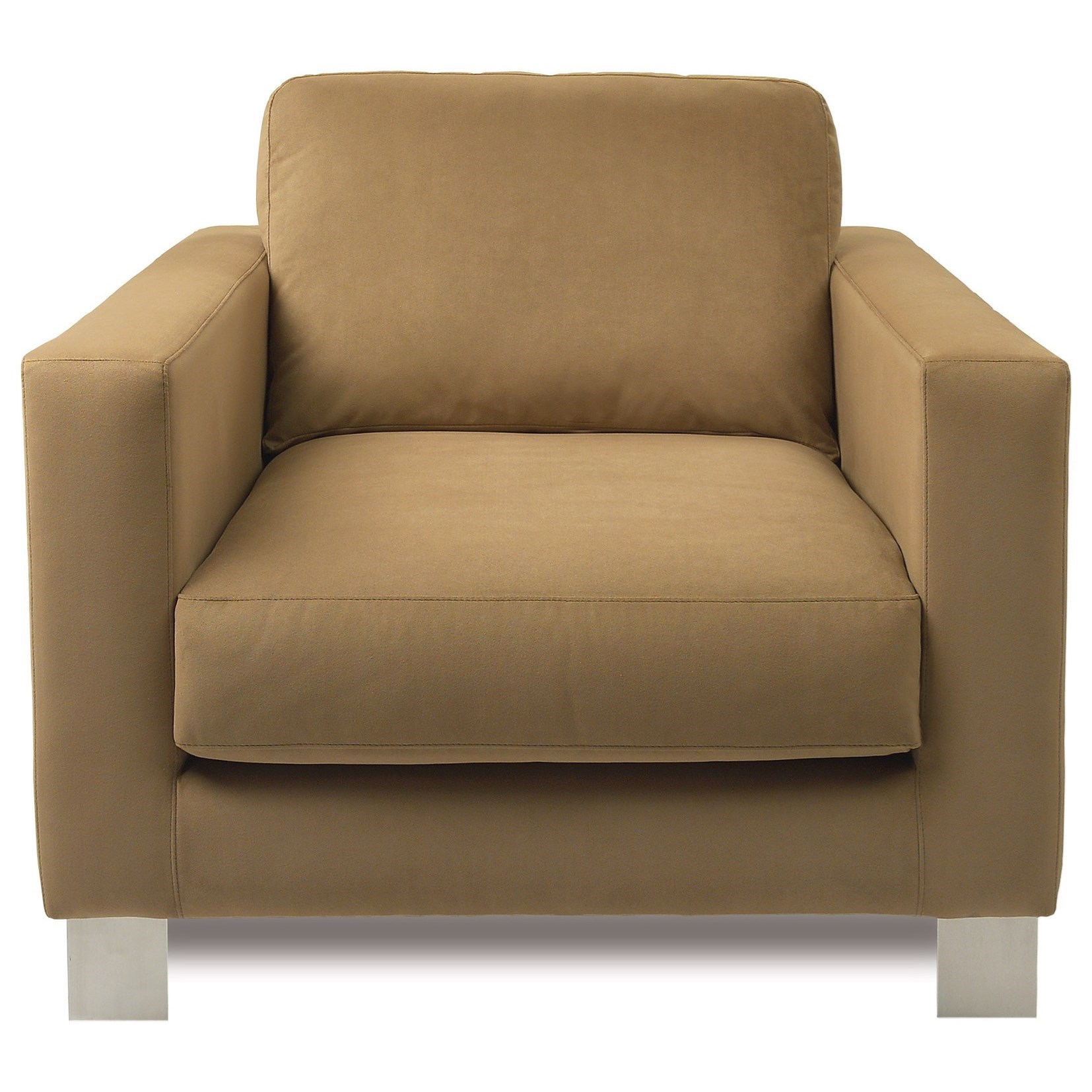 Alessandro Upholstered Chair by American Leather at Williams & Kay