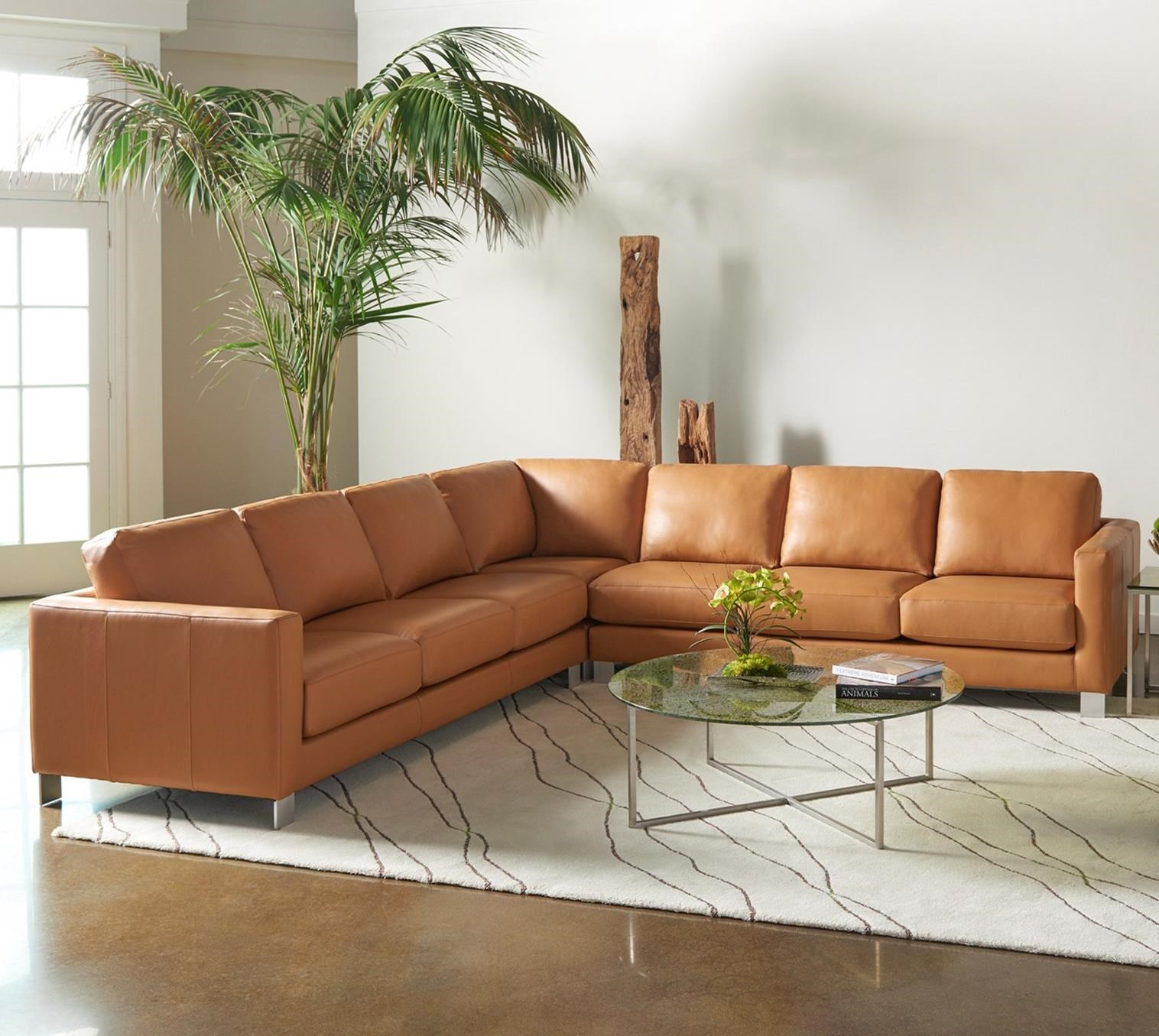 Alessandro Sectional by American Leather at Williams & Kay