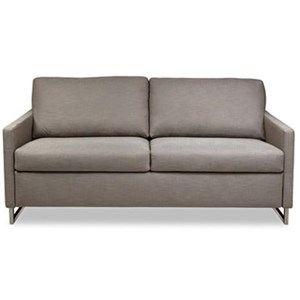 Queen Sleeper Sofa with Track Arms
