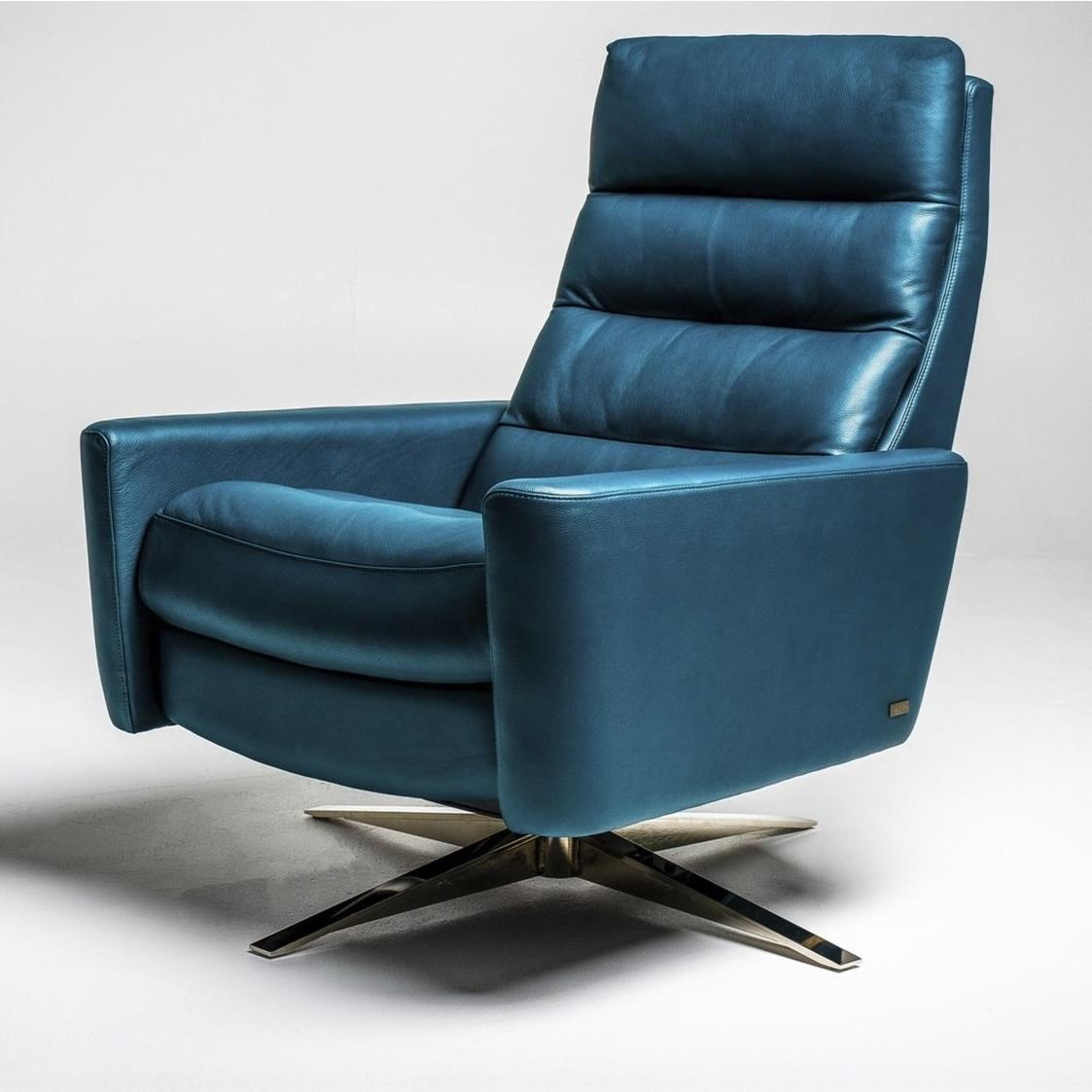Cirrus Large Pushback Chair by American Leather at Baer's Furniture