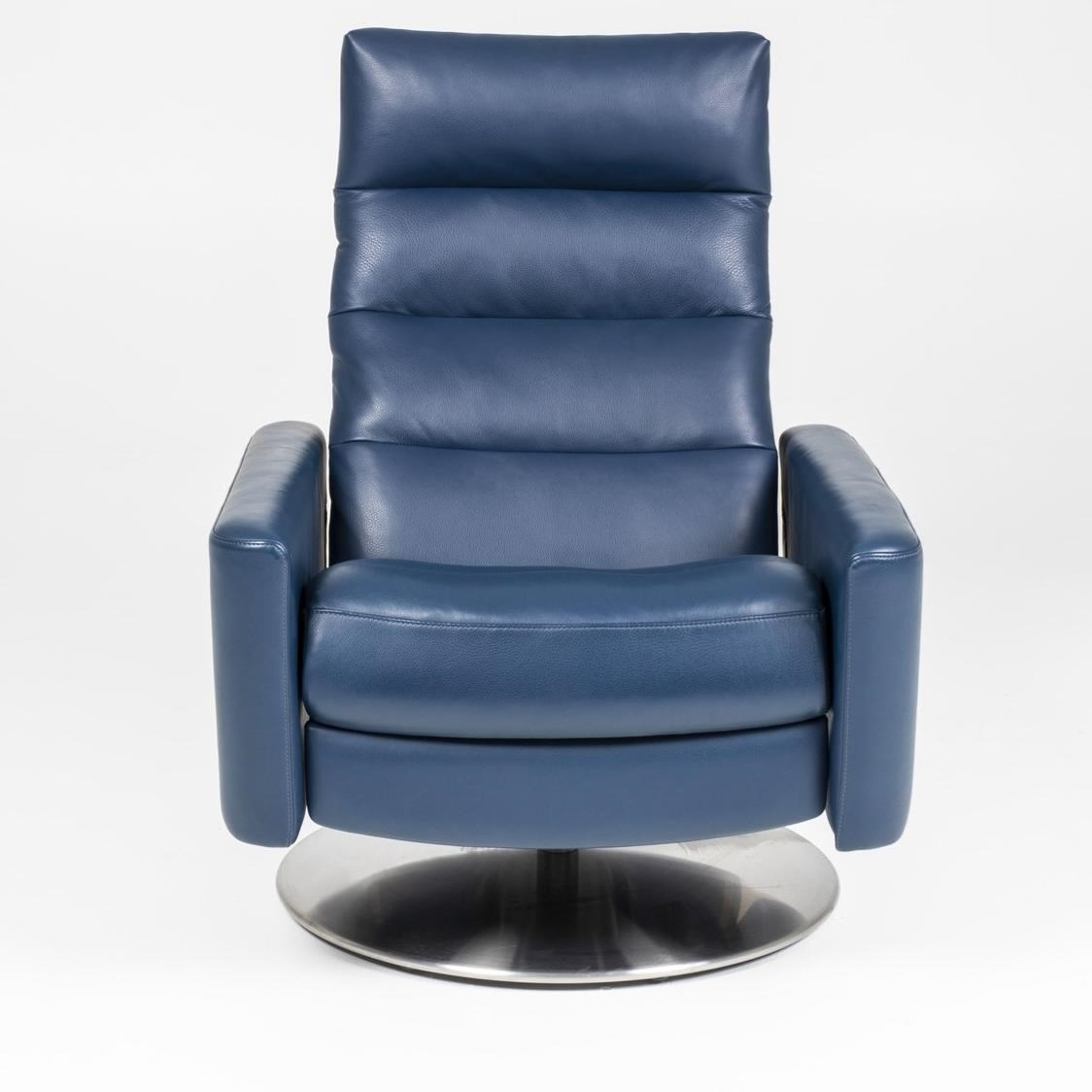Cirrus Standard Pushback Chair by American Leather at Baer's Furniture