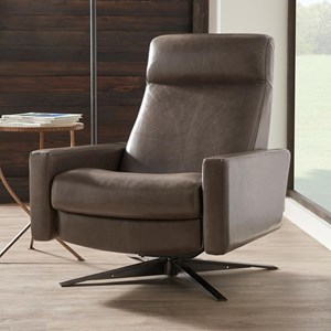 Contemporary Large Pushback Chair