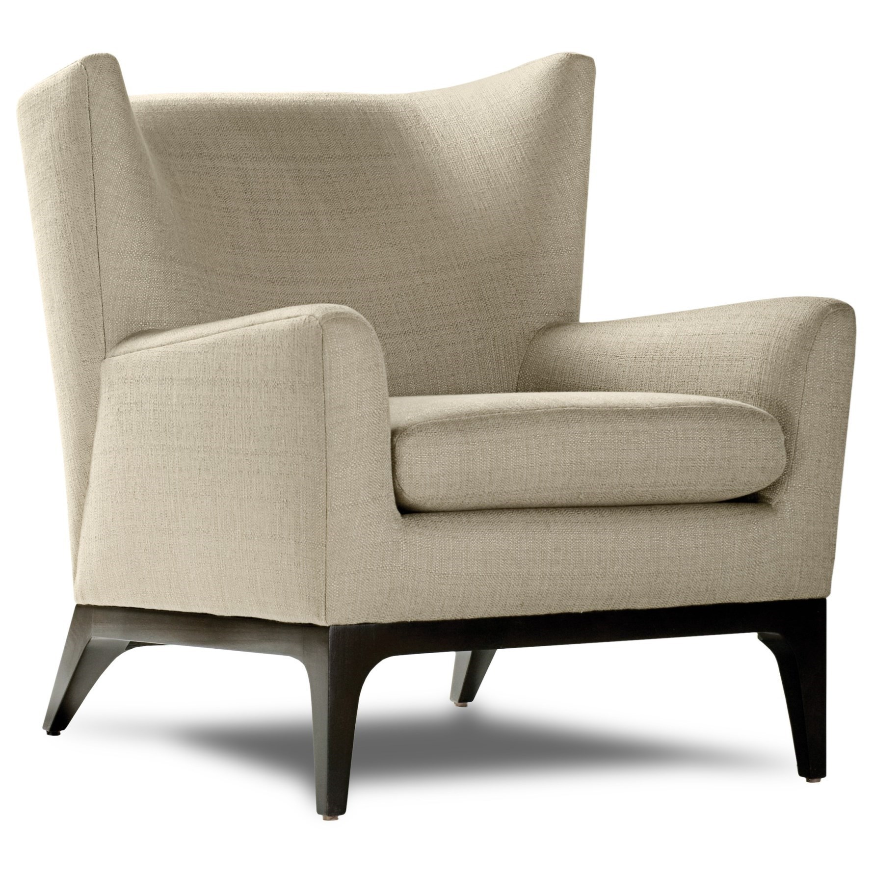 Cole Wing Chair by American Leather at Williams & Kay