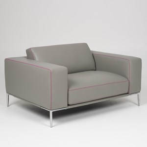 Contemporary Customizable Chair and a Half