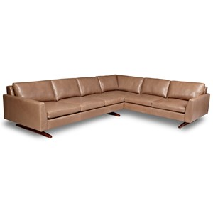 5-Seat Sec Sofa w/ Right Arm Sitting Sofa
