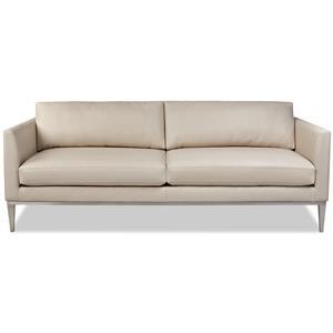 Contemporary Sofa with High Leg Base