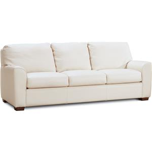 Casual Sofa with Loose Pillows and Cushions