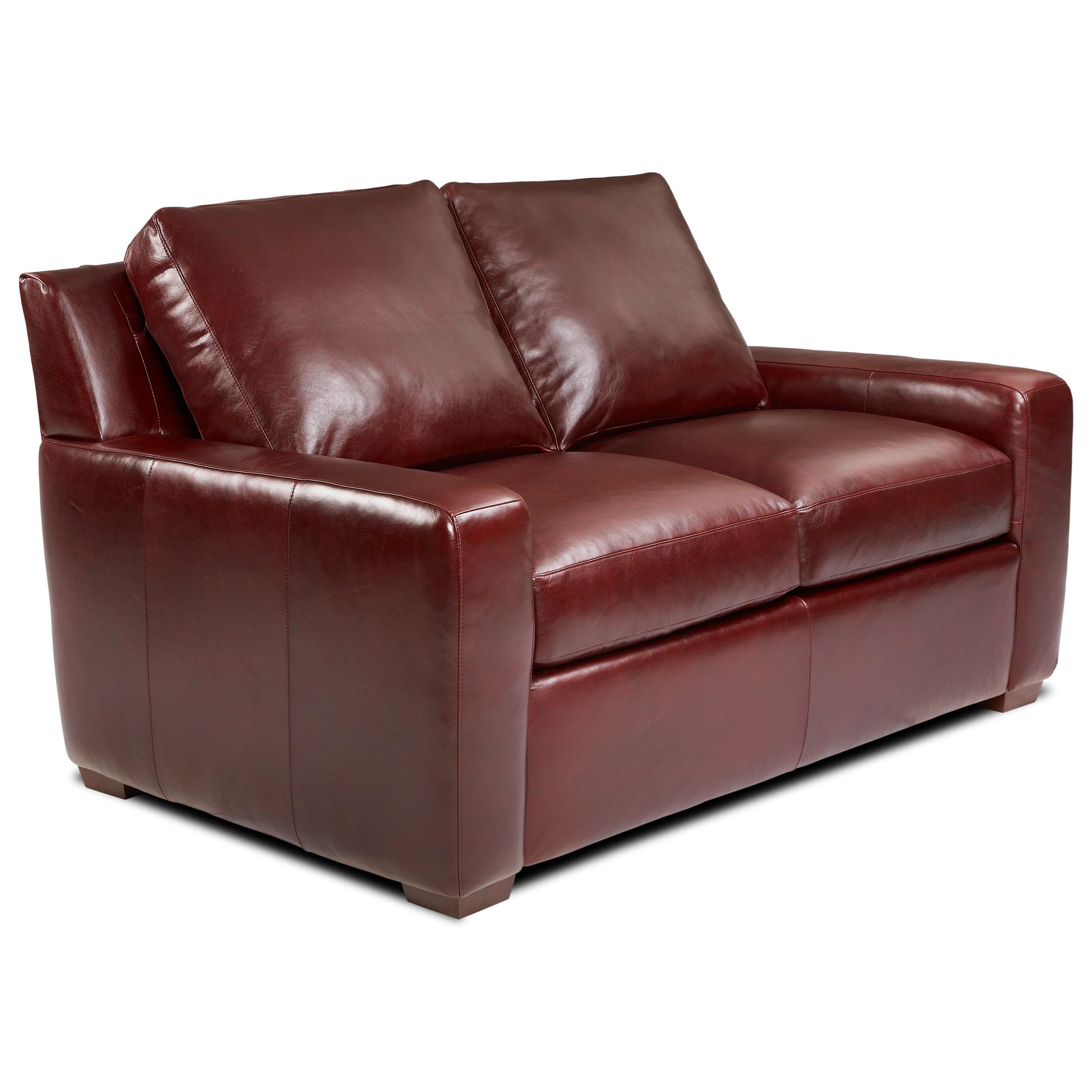 Lisben Loveseat by American Leather at Sprintz Furniture