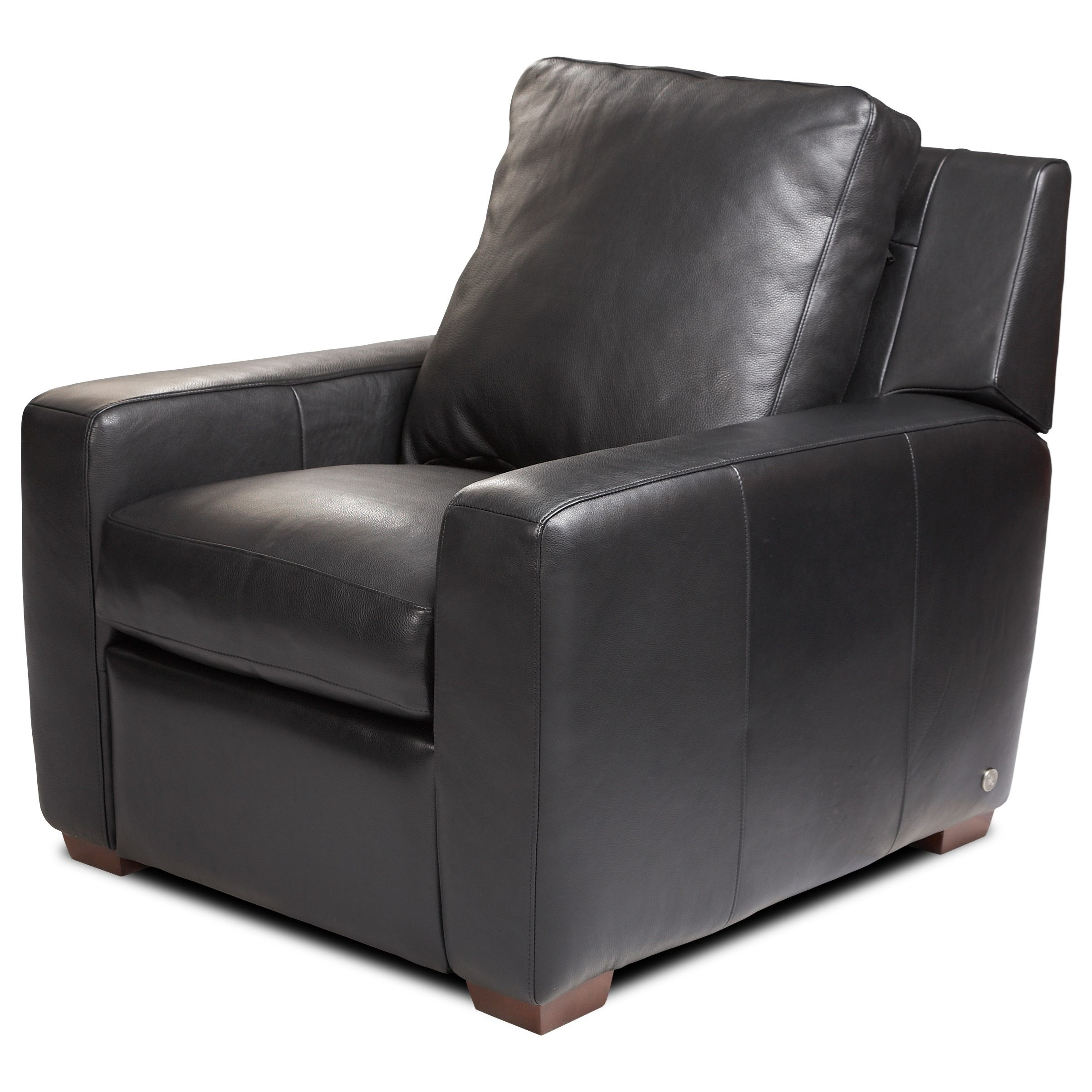 Lisben High Leg Recliner by American Leather at Malouf Furniture Co.