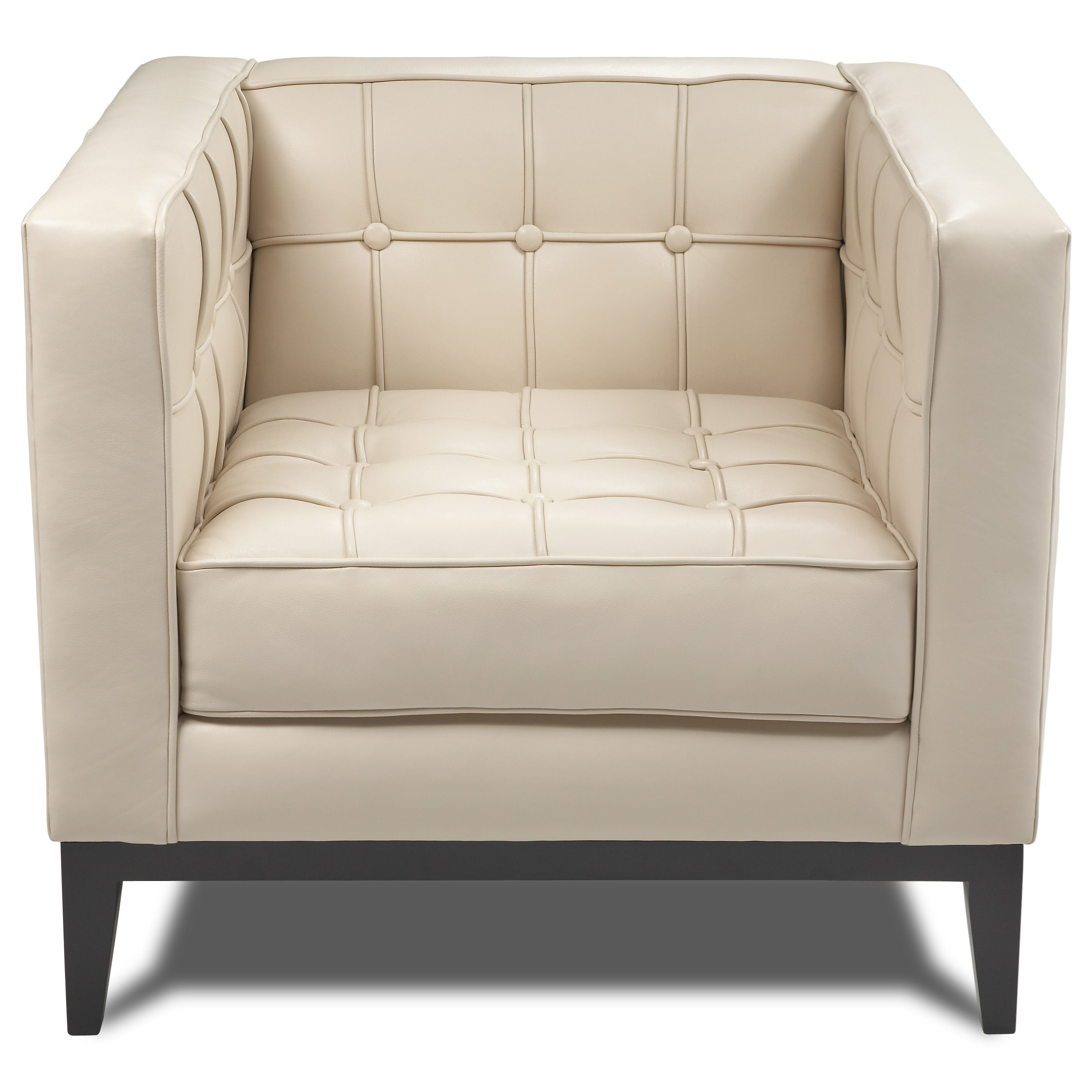 """Luxe 32"""" Chair by American Leather at Williams & Kay"""