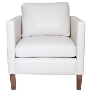 Modern Upholstered Chair with Custom Leg Options