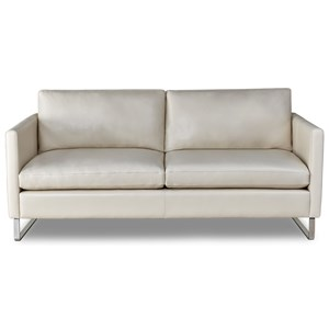 Modern 2-Seater Sofa with Customizable Leg Options