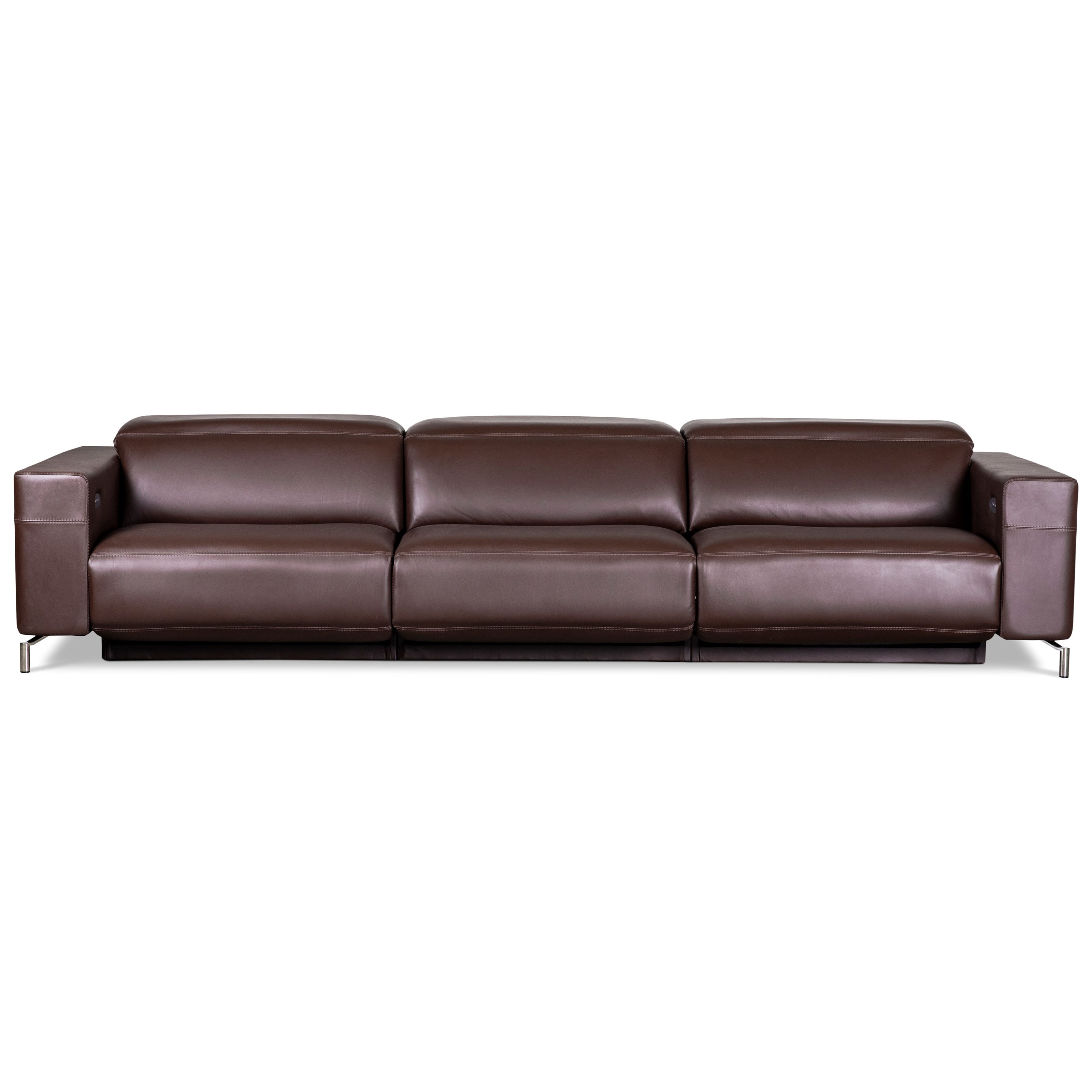 Monza 3-Seat Reclining Sofa by American Leather at Williams & Kay