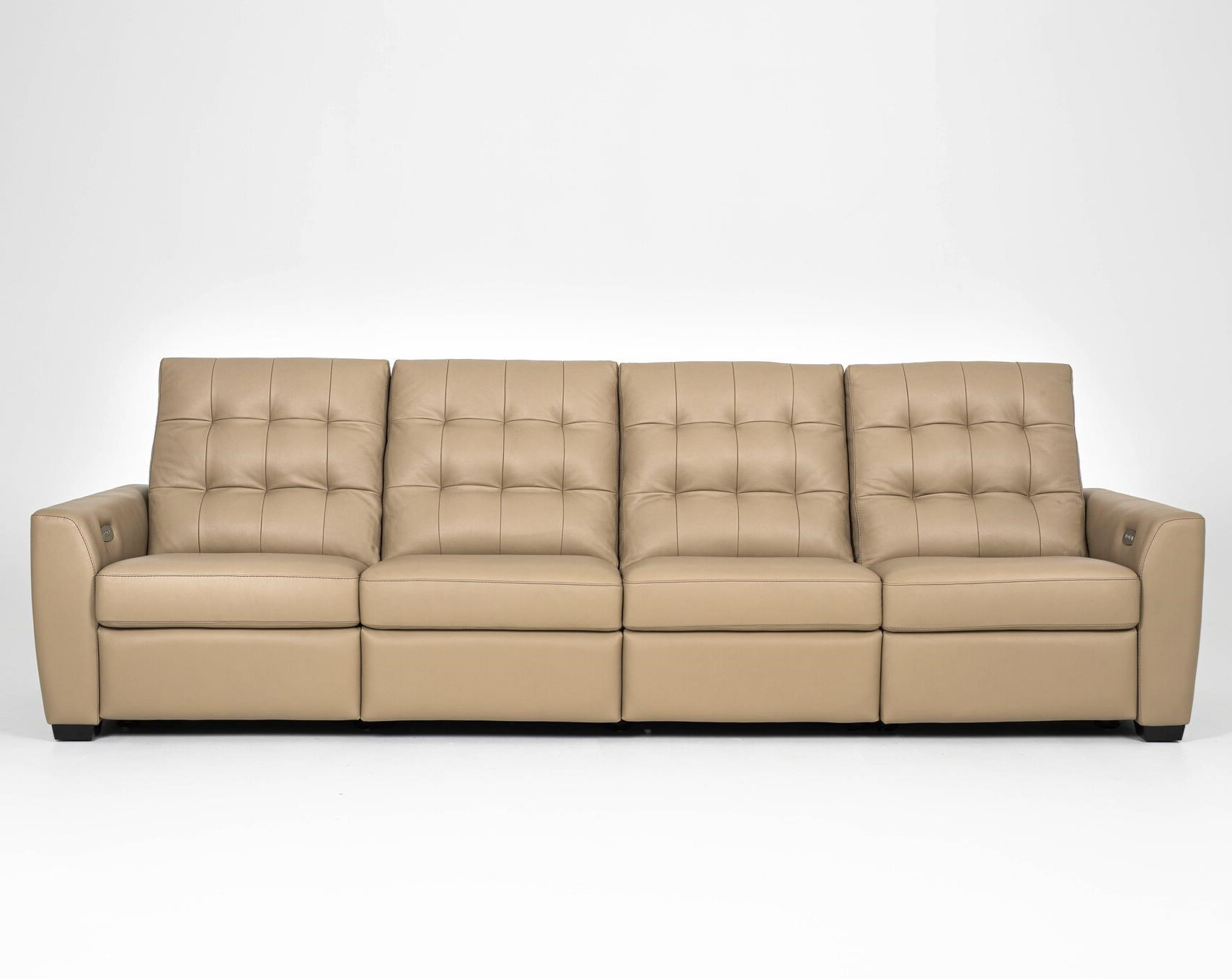 Napa Reclining 4-Seat Sofa by American Leather at Williams & Kay