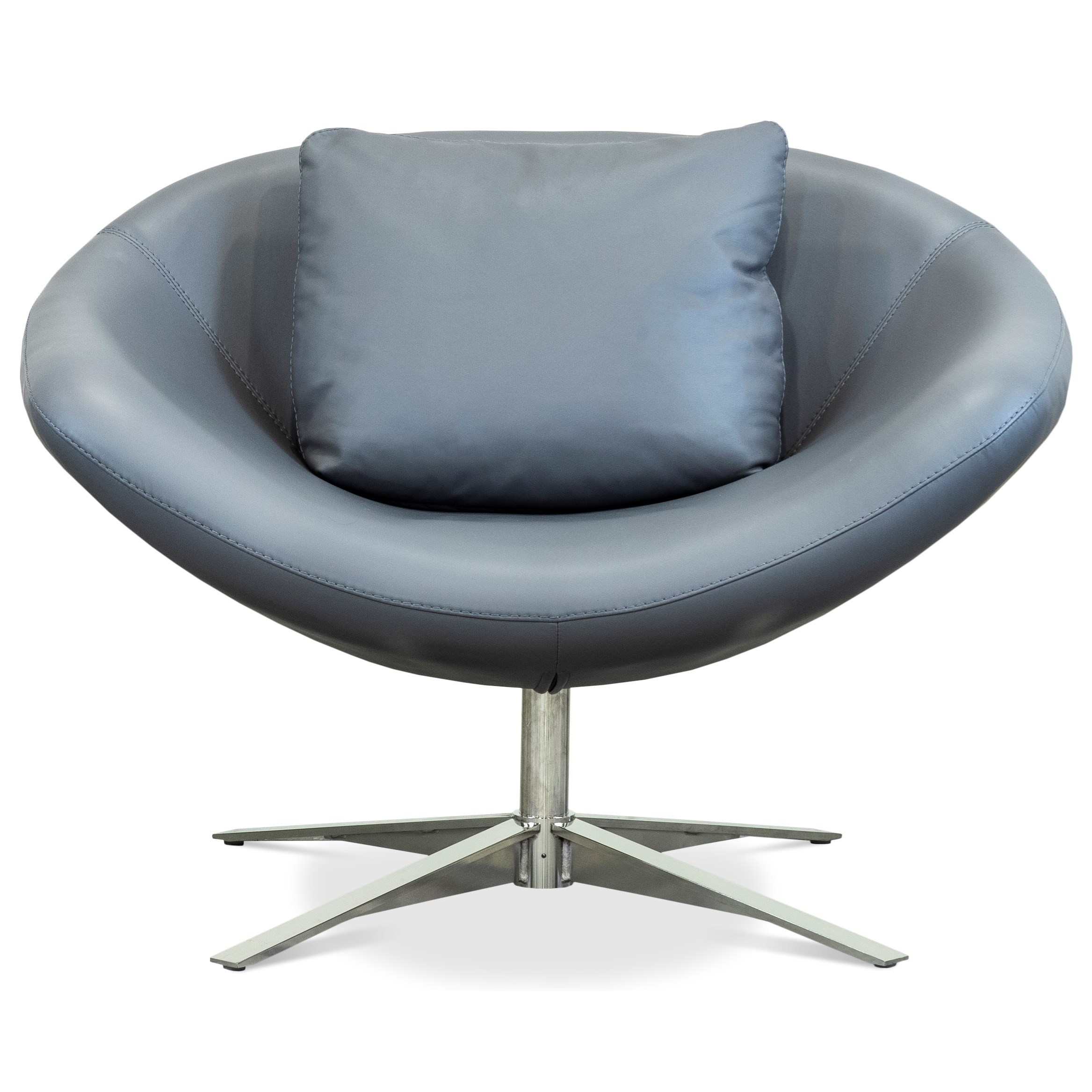 Parma Swivel Chair by American Leather at Williams & Kay