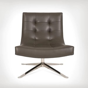 Contemporary Upholstered Swivel Chair