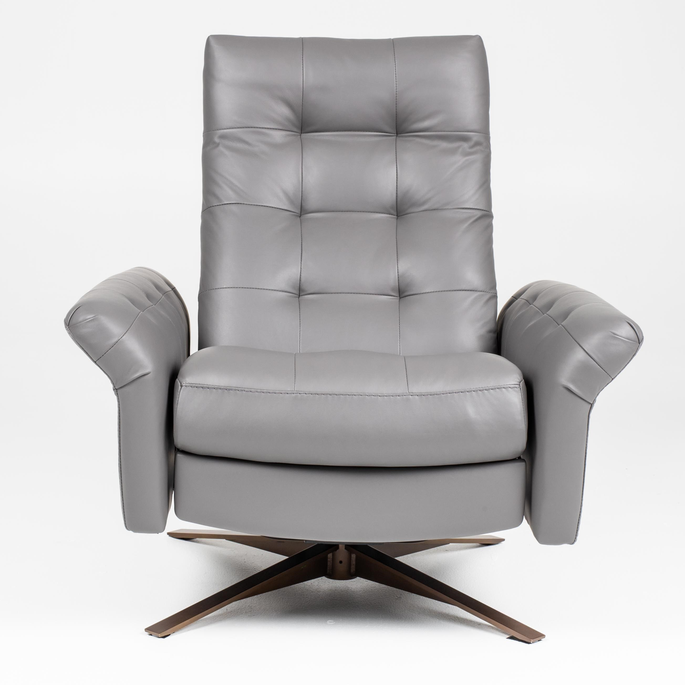 Pileus Swivel Glider Recliner - Large by American Leather at Williams & Kay