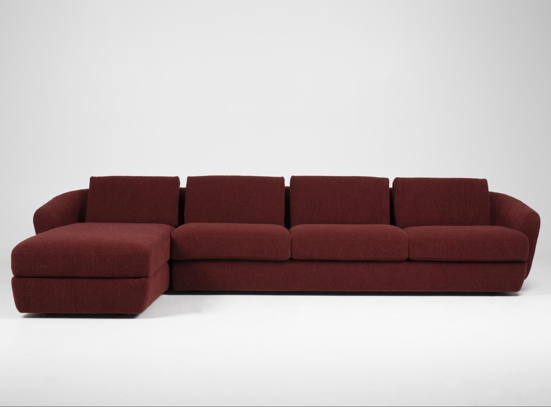 Sadona 4-Seat Sofa with Chaise by American Leather at Baer's Furniture