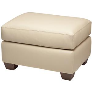 American Leather Savoy Ottoman
