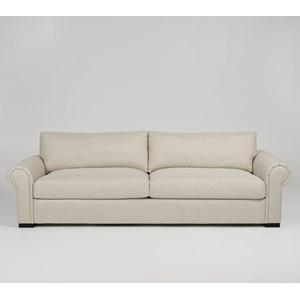 Transitional Customizable 2-Seat Sofa