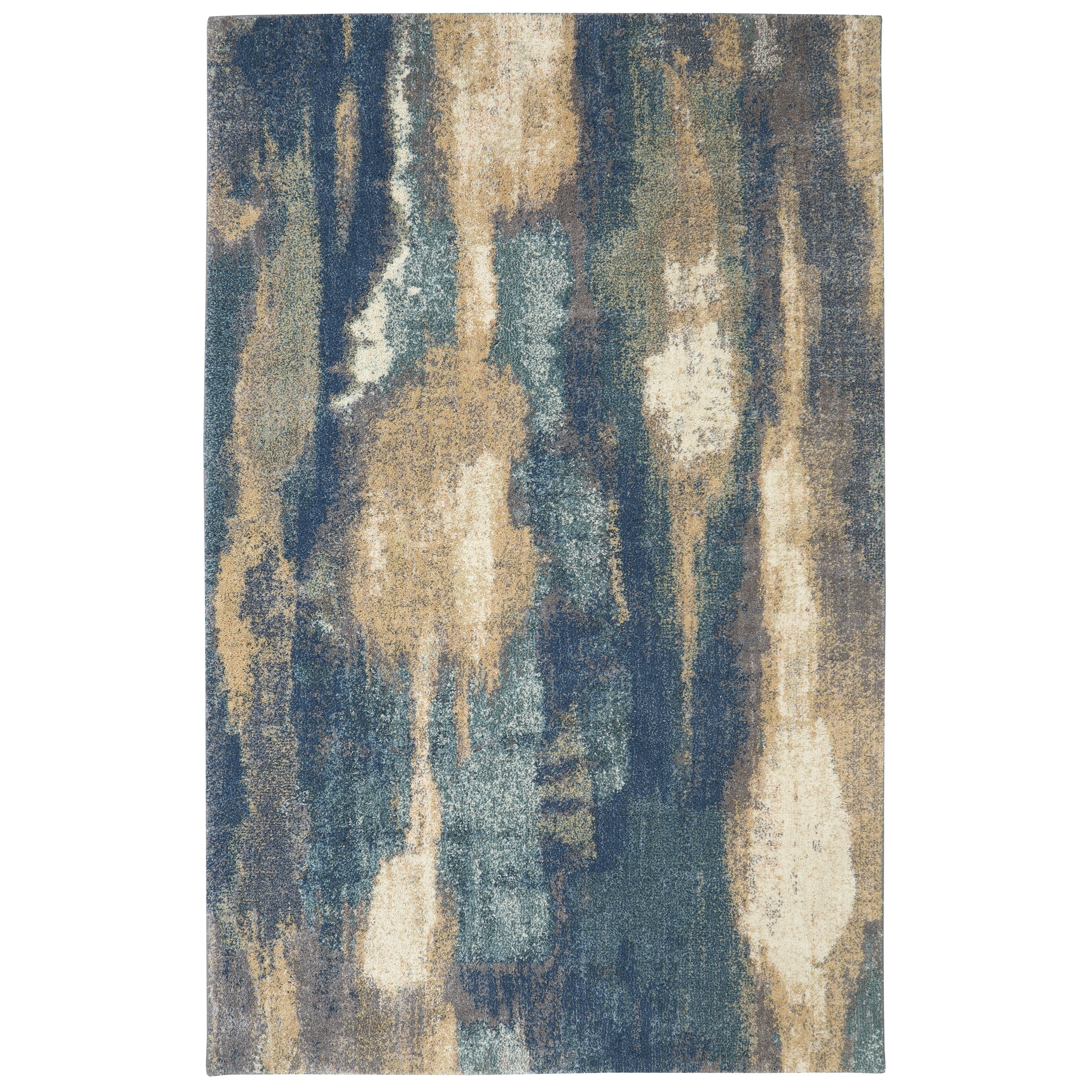 Berkshire 5'x8' Wendall Blue Area Rug by American Rug Craftsmen at Alison Craig Home Furnishings