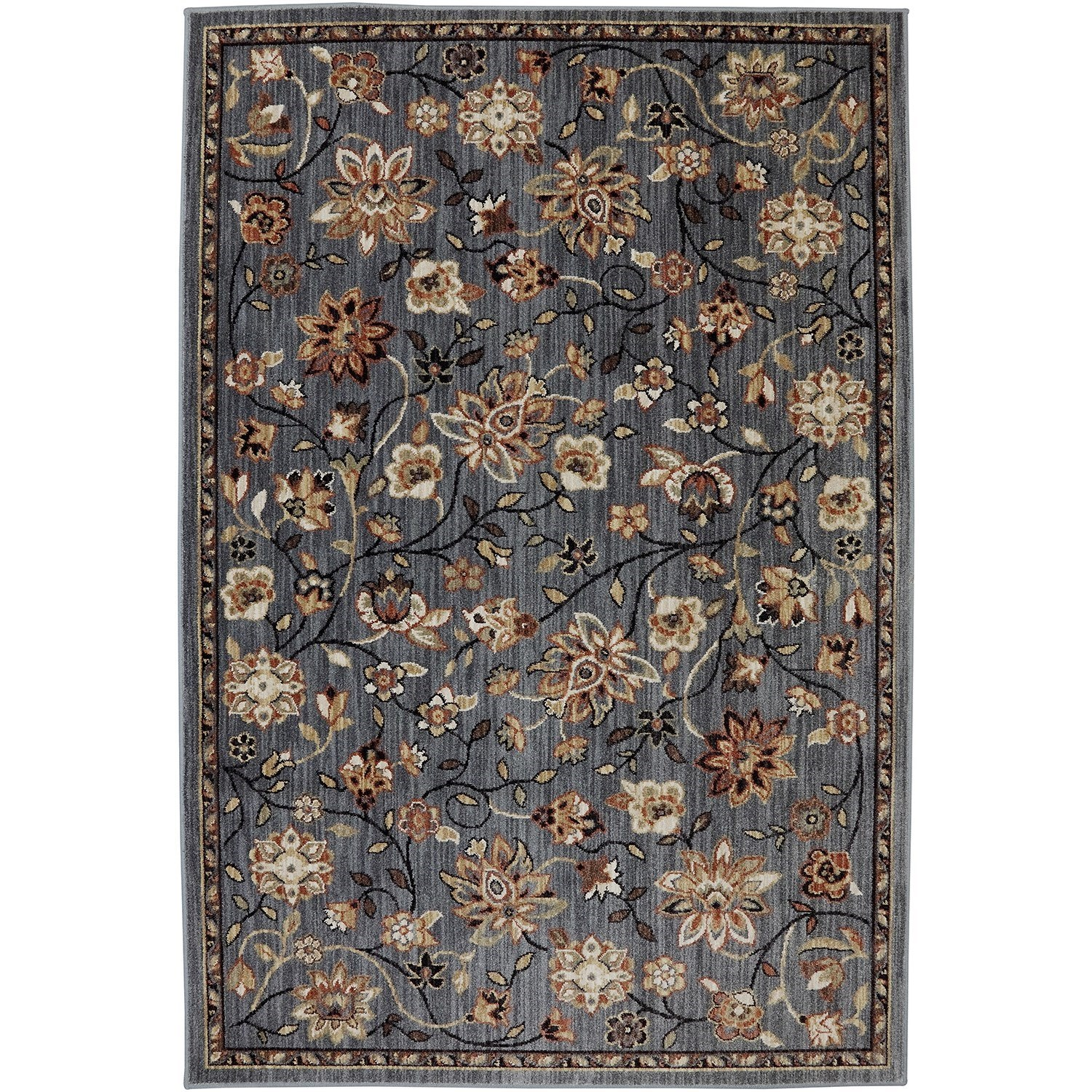 "Dryden 5' 3""x7' 10"" Emerson Abyss Blue Area Rug by American Rug Craftsmen at Alison Craig Home Furnishings"