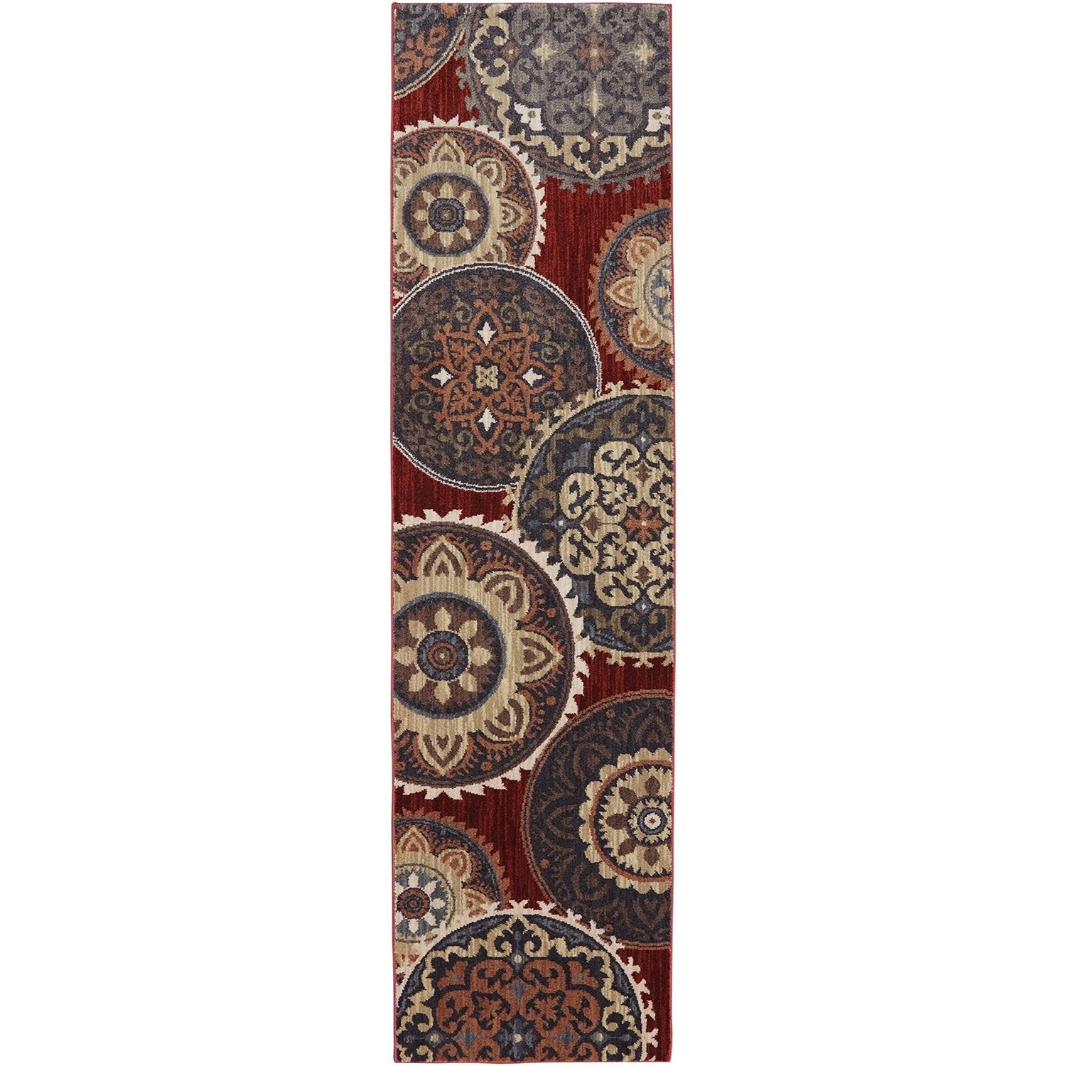 """Dryden 2' 1""""x7' 10"""" Summit View Ashen Area Rug by American Rug Craftsmen at Alison Craig Home Furnishings"""