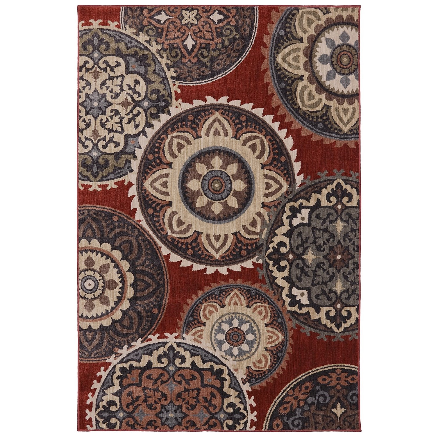 """Dryden 5' 3""""x7' 10"""" Summit View Ashen Area Rug by American Rug Craftsmen at Alison Craig Home Furnishings"""