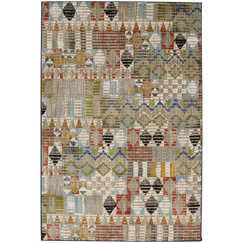 "Metropolitan 5' 3""x7' 10"" Massey Multi Area Rug by American Rug Craftsmen at Alison Craig Home Furnishings"