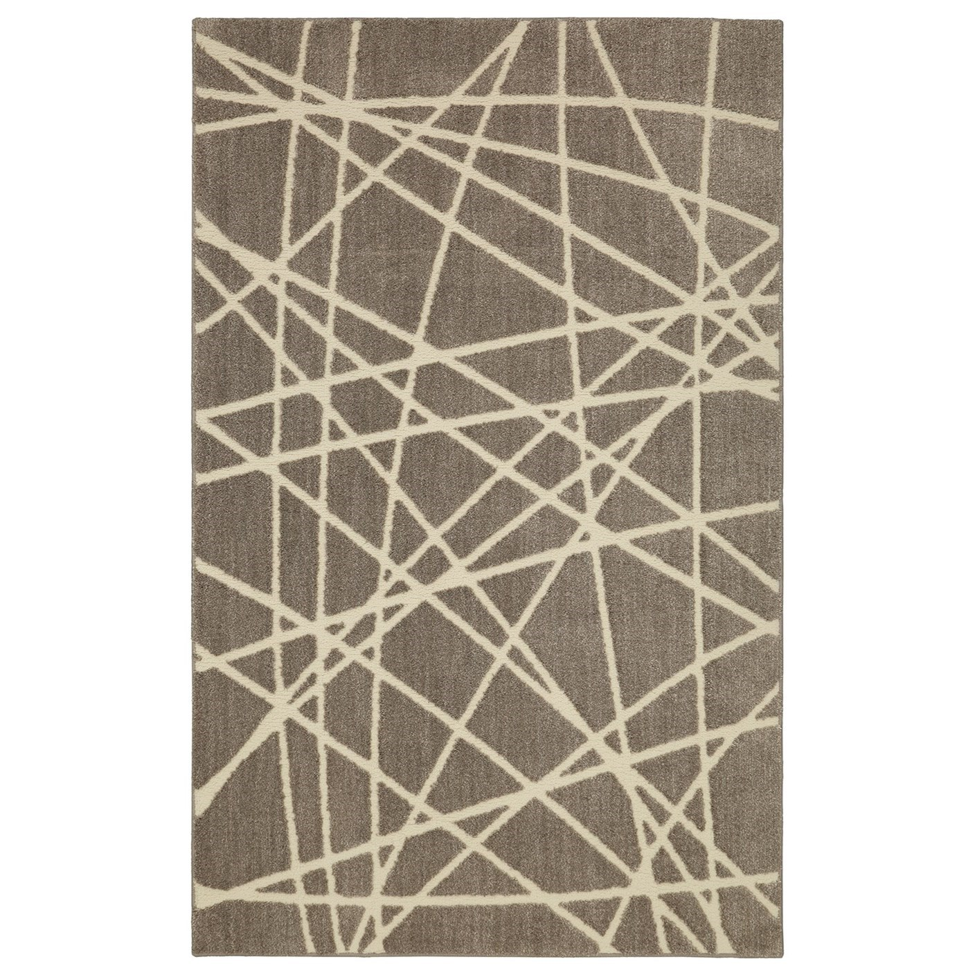 Nomad 5'x8' Artesia Gray Area Rug by American Rug Craftsmen at Alison Craig Home Furnishings