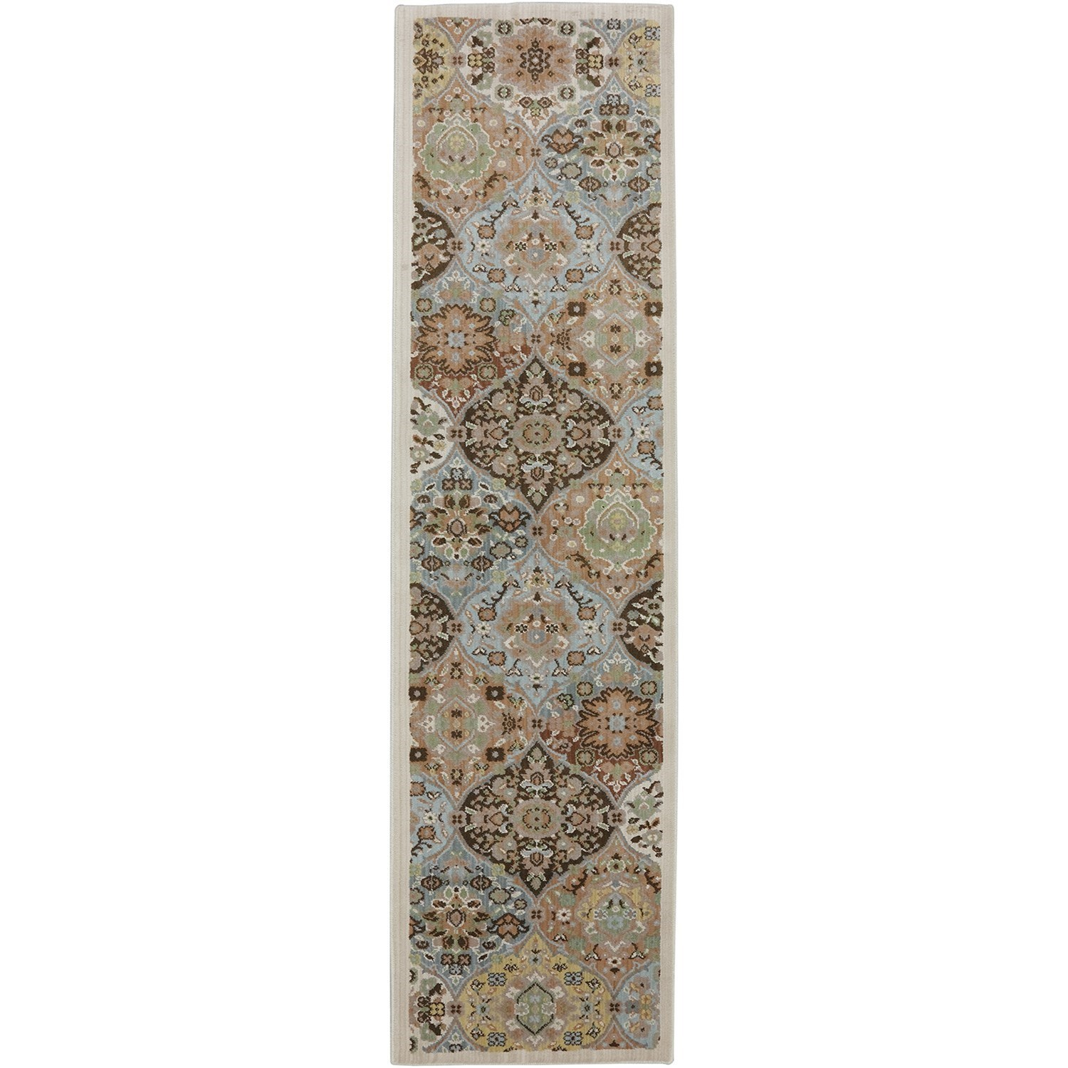 "Serenity 2' 1""x7' 10"" Kirman Coast Peat Moss Area Rug by American Rug Craftsmen at Alison Craig Home Furnishings"