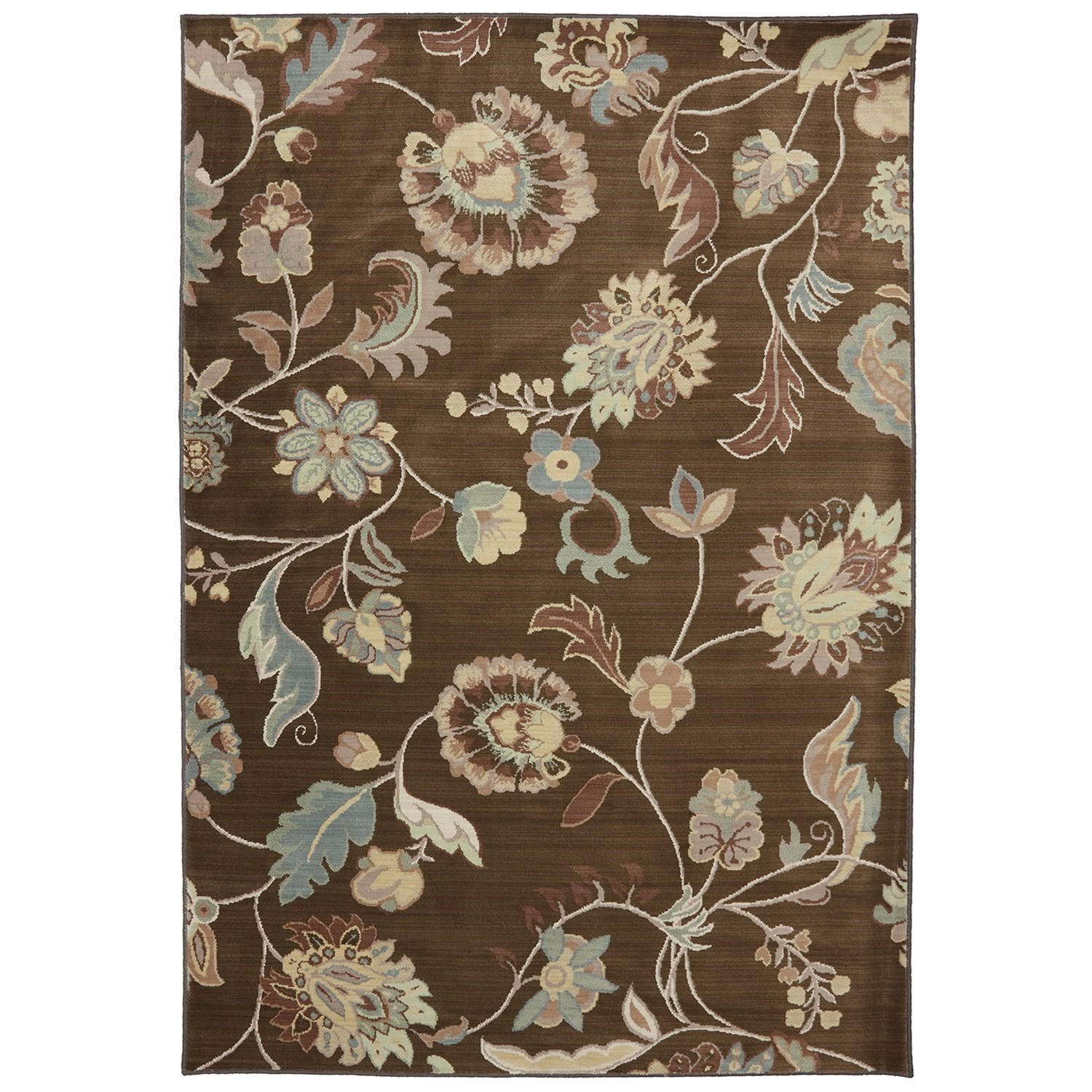"""Serenity 5' 3""""x7' 10"""" Sol Star Bison Area Rug by American Rug Craftsmen at Alison Craig Home Furnishings"""