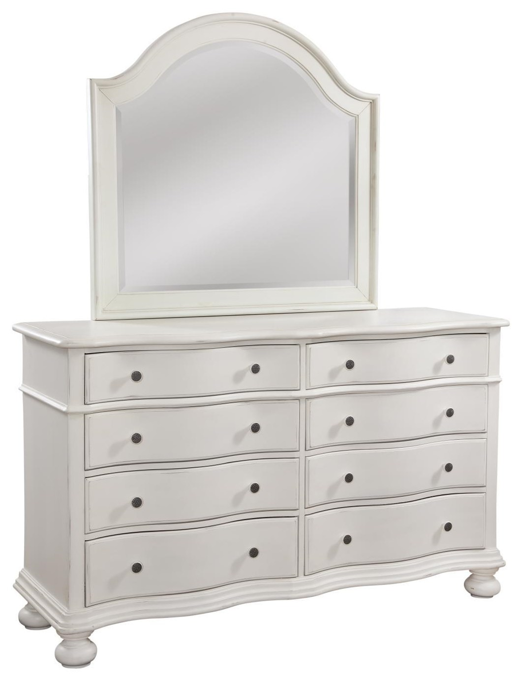 3910 Rodanthe Bedroom DRESSER by American Woodcrafters at Furniture Fair - North Carolina