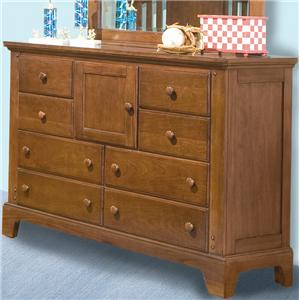 American Woodcrafters Bradford Youth Double Dresser
