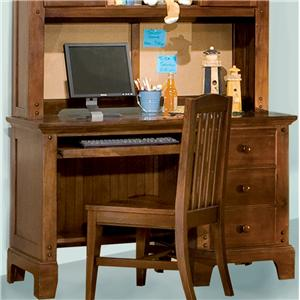 American Woodcrafters Bradford Youth Computer Desk