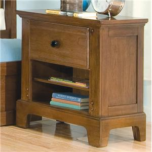 American Woodcrafters Bradford Youth Youth Nightstand