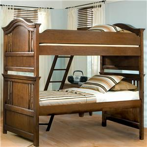 American Woodcrafters Bradford Youth Full Bunk Bed