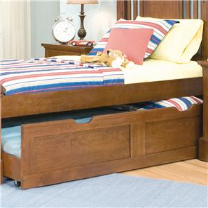 American Woodcrafters Bradford Youth Trundle Unit