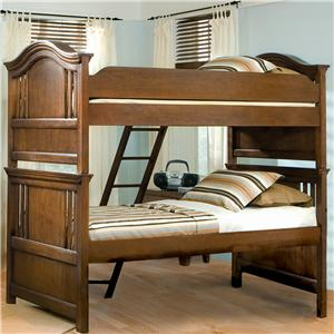 American Woodcrafters Bradford Youth Twin Bunk Bed