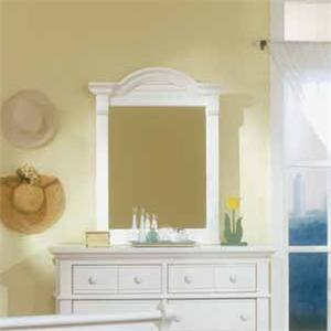 American Woodcrafters Cottage Traditions Youth Dresser Mirror