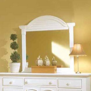 Cottage Traditions Mirror by American Woodcrafters at Johnny Janosik