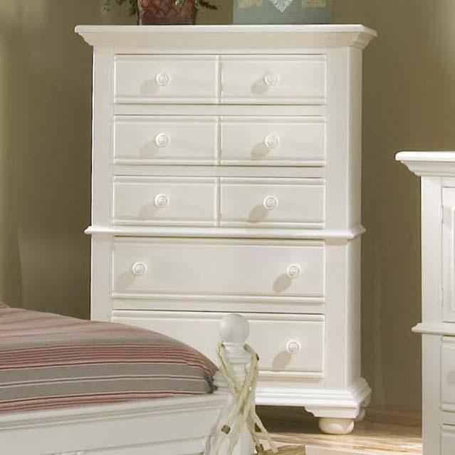 Cottage Traditions 5 Drawer Chest by American Woodcrafters at Johnny Janosik