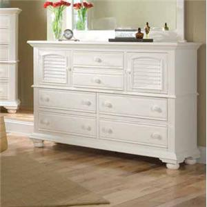 American Woodcrafters Cottage Traditions Dresser
