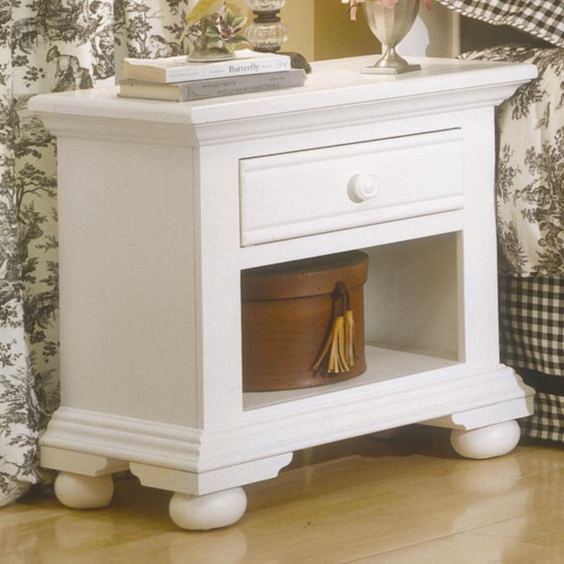 Cottage Traditions Youth Nightstand by American Woodcrafters at Johnny Janosik
