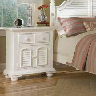 Cottage Traditions Night Stand by American Woodcrafters at Johnny Janosik