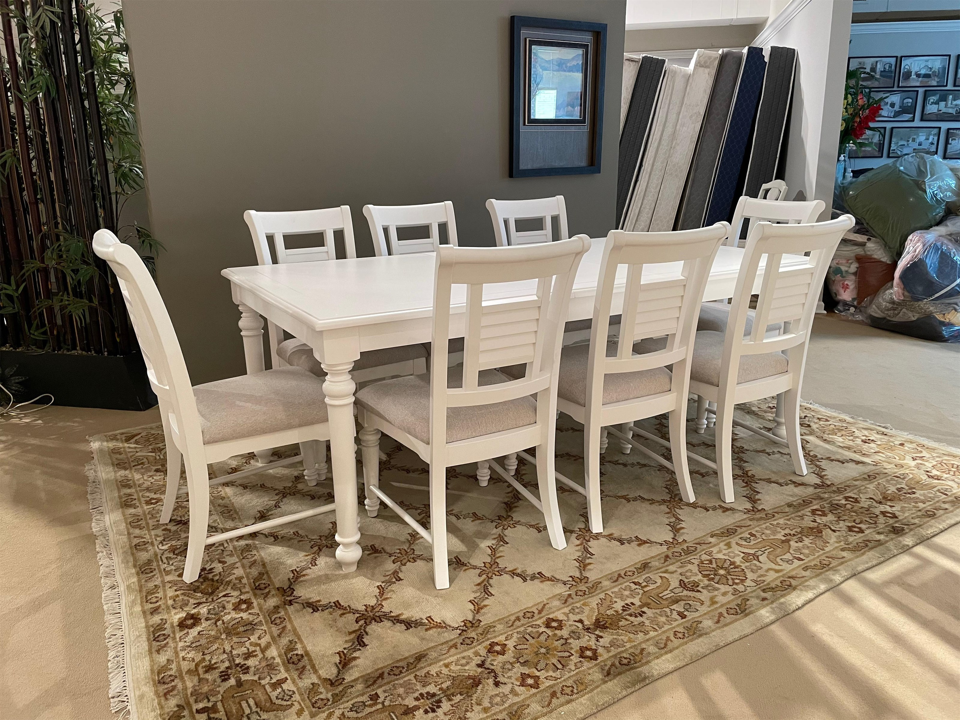 Cottage Traditions Rectangle Table and Side Chairs by American Woodcrafters at Johnny Janosik