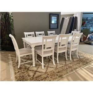 Rectangle Table and Side Chairs