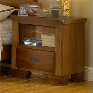 American Woodcrafters Heartland  Nightstand